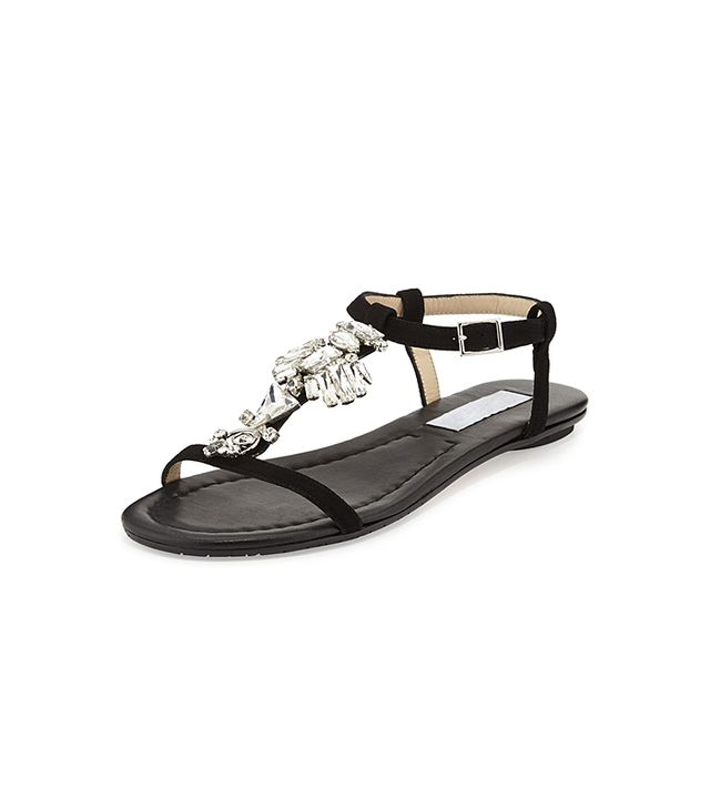 Jimmy Choo Night Jeweled Suede Sandals