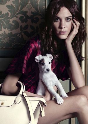 Alexa Chung Stars In Longchamp's F/W 2014 Campaign