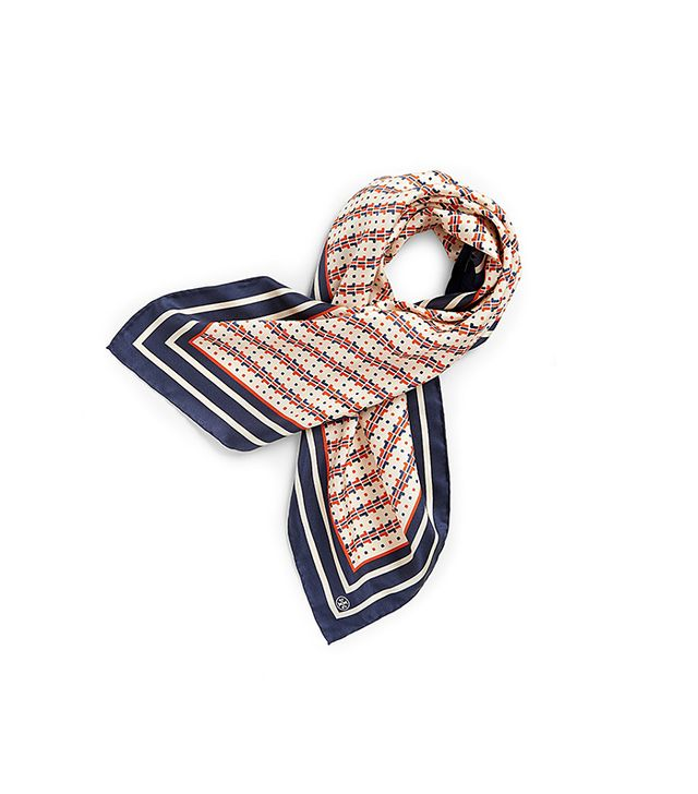 Tory Burch t-dot Square Scarf