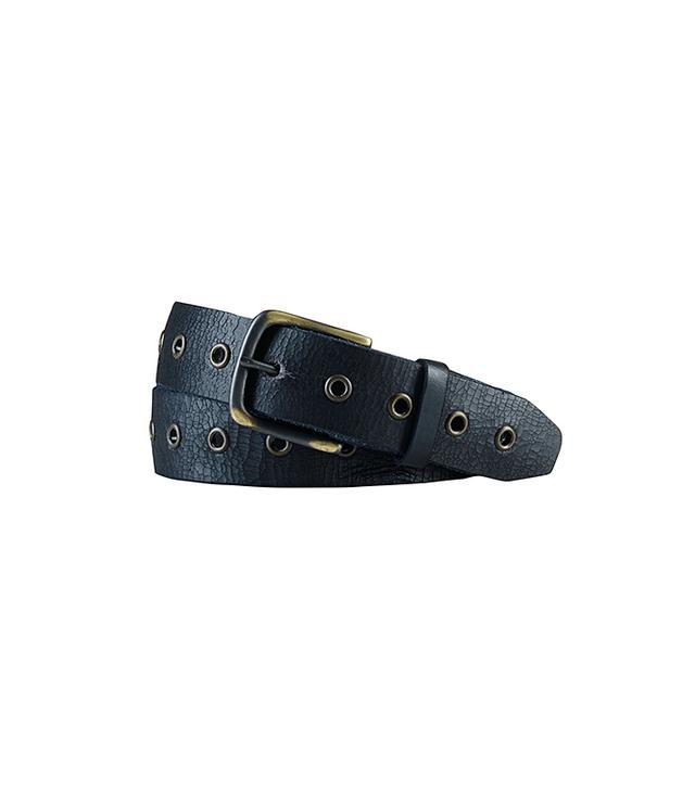 Denim & Supply Grommet-Trim Leather Belt