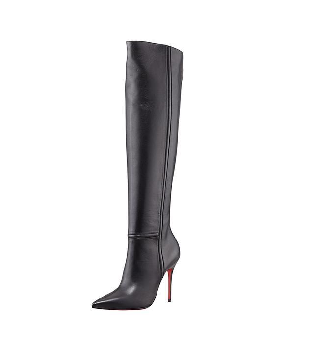 Christian Louboutin Armurabotta Thigh-High Pointy Boots