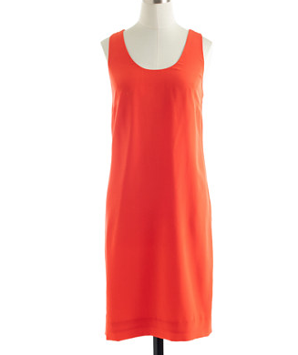 J.Crew Collection Twist-Back Silk Dress