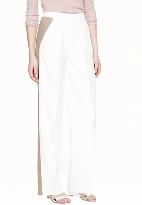 J.Crew Collection Wide-Leg Trousers