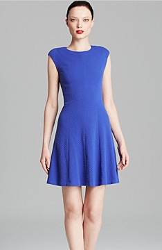 Rebecca Taylor Textured Novelty Taylor Dress