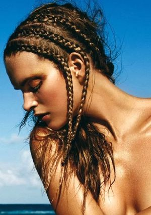 Summer Beauty Inspiration From Harper's Bazaar Spain