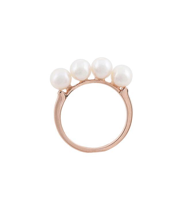 Anita Ko for Tibi Multi Pearl Ring