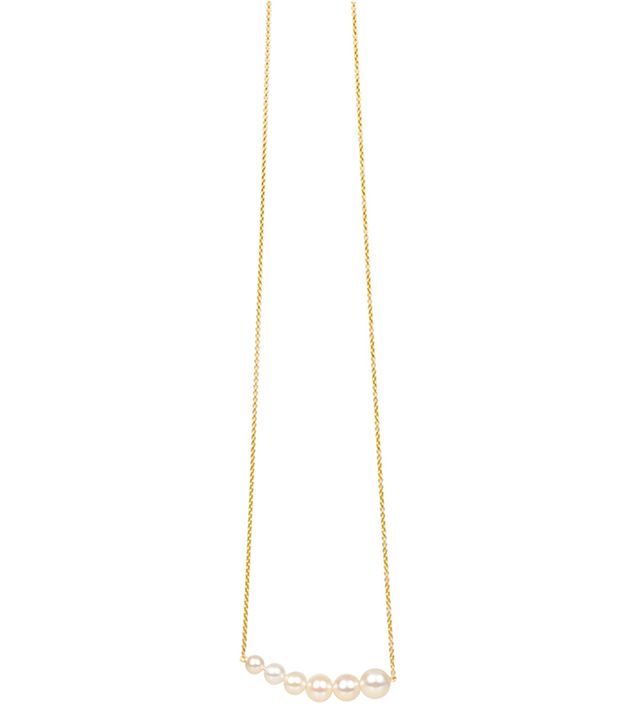 Anita Ko for Tibi Gradient Pearl Necklace
