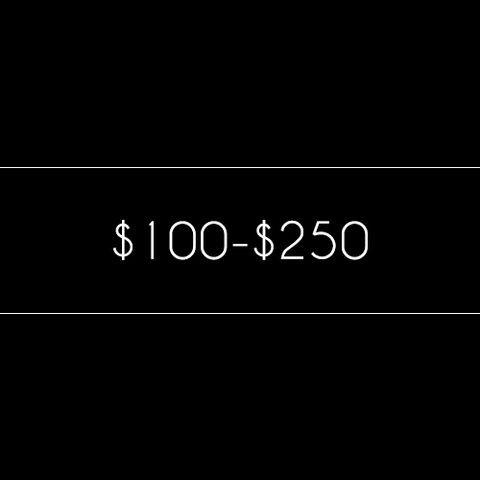 $100- $250
