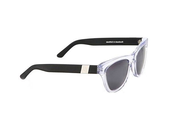 Westward Leaning Wintermute Square Acetate & Aluminum Sunglasses
