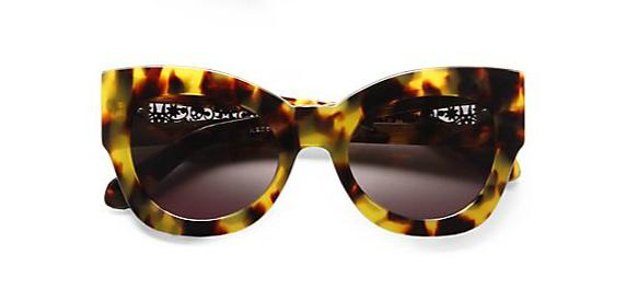 Karen Walker Northern Lights Cat's-Eye Sunglasses