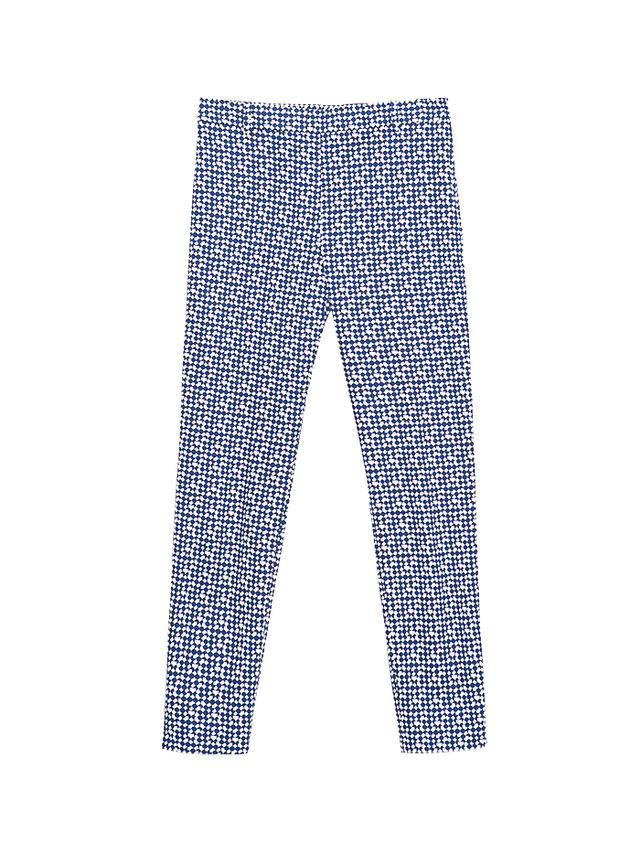 Zara Geometric Print Trousers