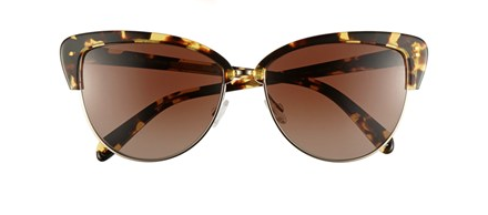 Oliver Peoples Alisha Half-Cat-Eye Sunglasses
