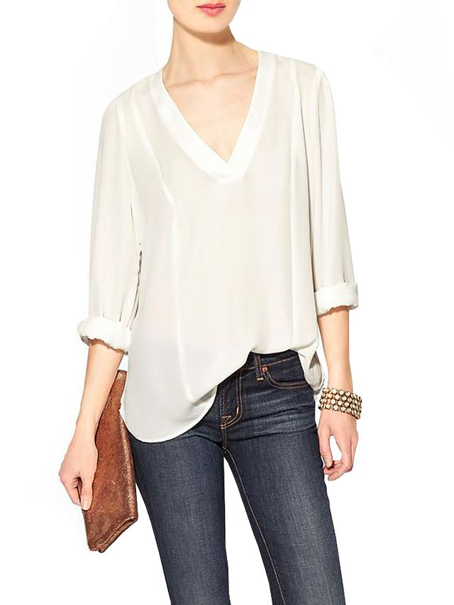 Eight Sixty Long Sleeve V-Neck Top