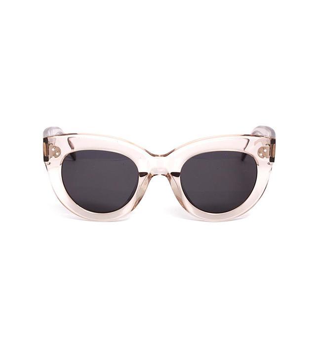 Céline Transparent Cat-Eye Sunglasses