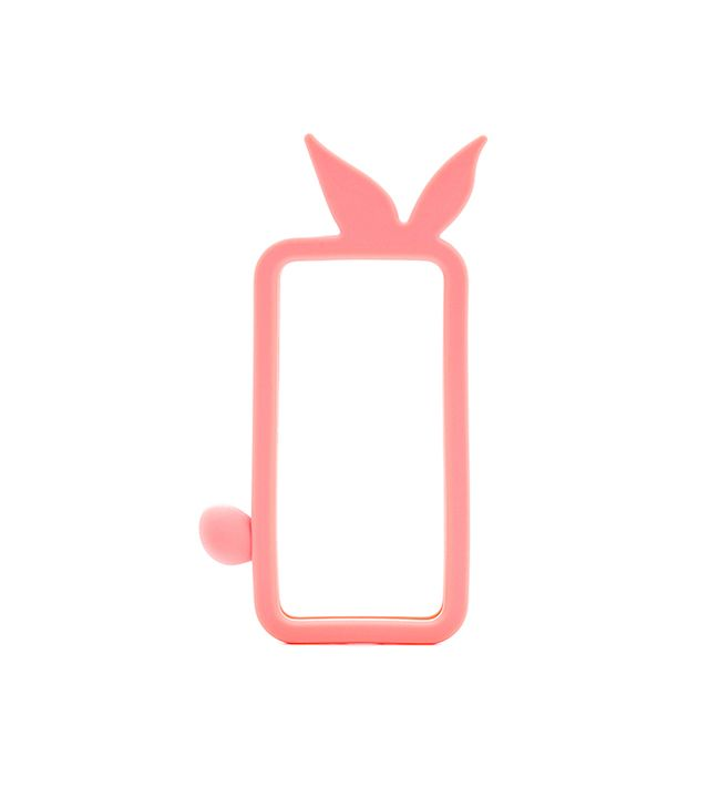 Marc by Marc Jacobs Katie Bunny Silicone iPhone Cover in Bright Coral