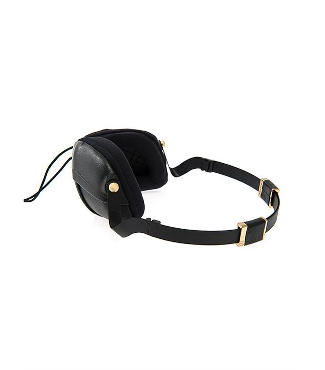 Molami Pleat Nappa Leather Over-The-Ear Headphones