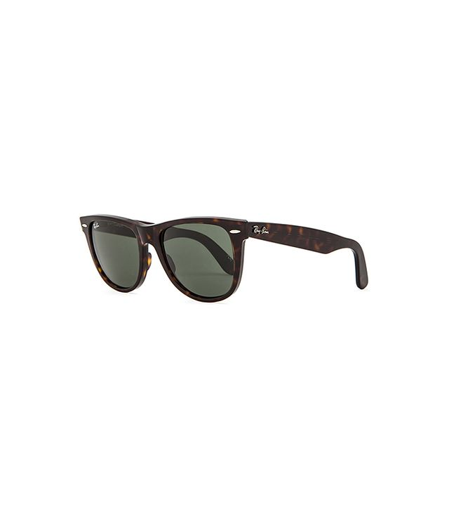 Ray-Ban Original Wayfarer Sunglasses in Tortoise/Green