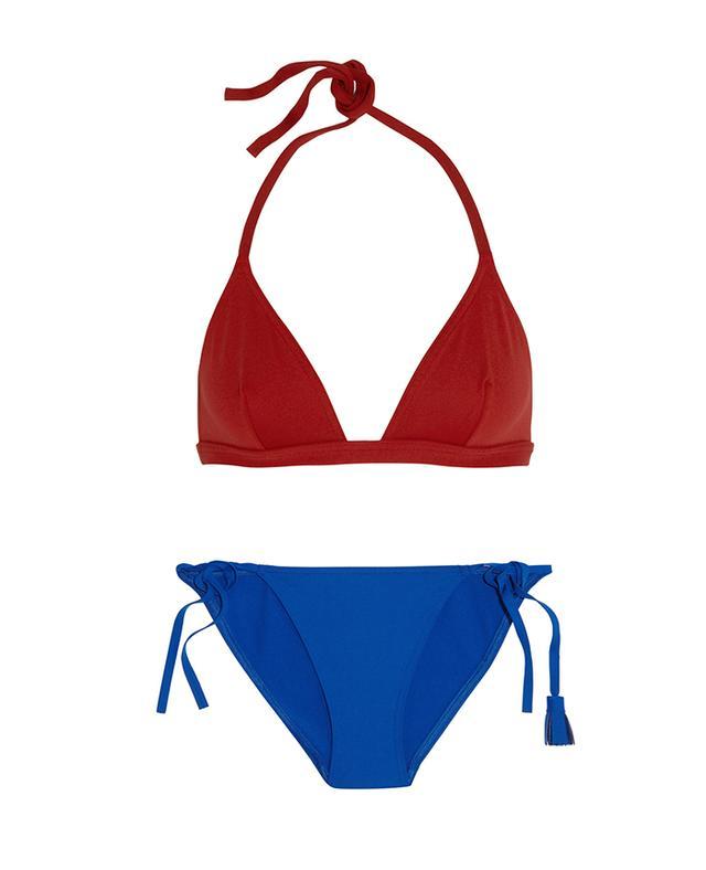 Eres Les Essentiels Molene Triangle Bikini Top and Sulky Rider Bikini Briefs