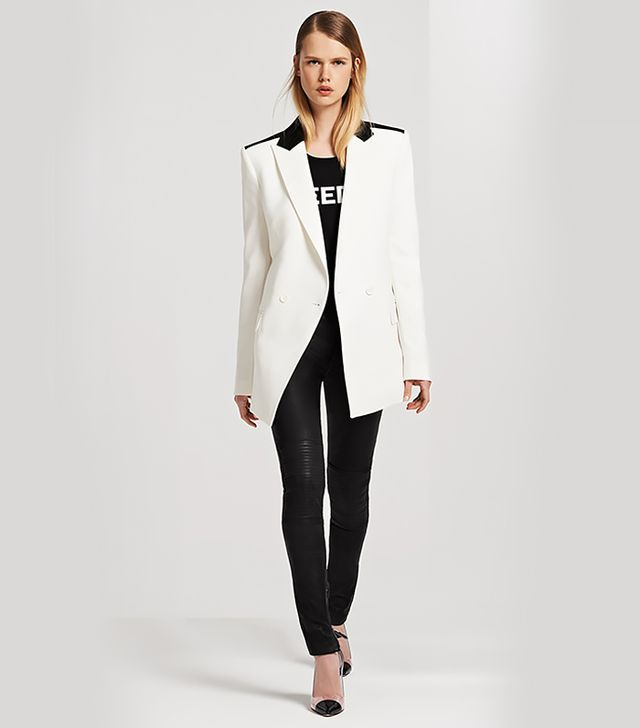 BLK DNM Double Breasted Tuxedo Jacket