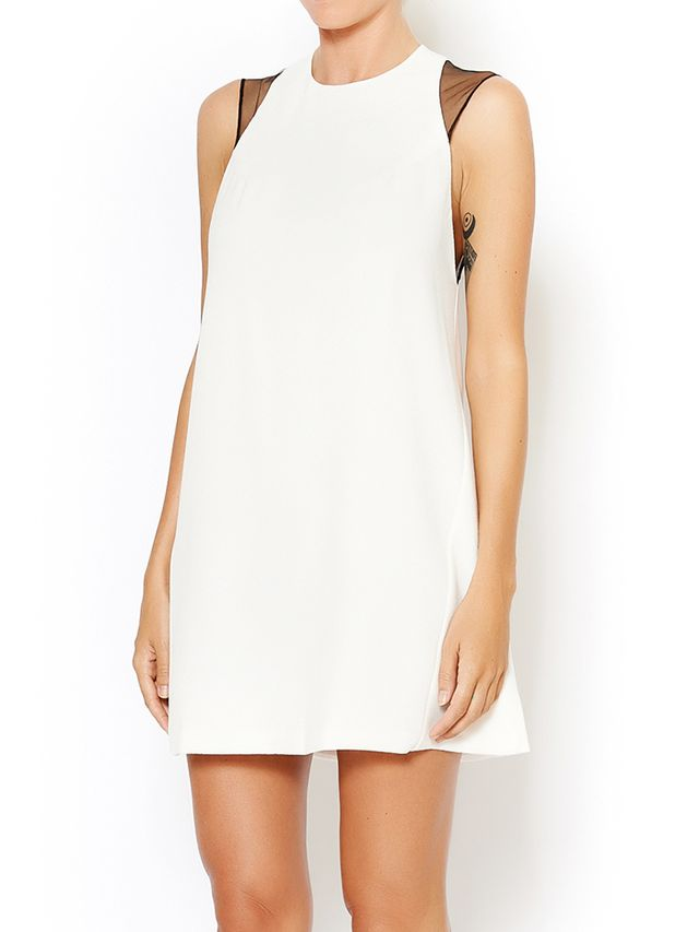 Olivaceous Perfect Shift Dress