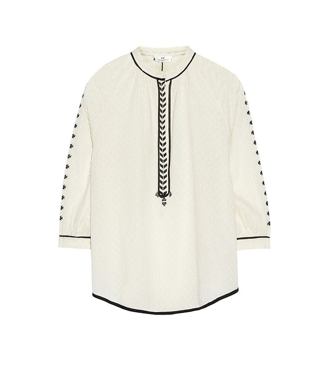 Day Birger Et Mikkelsen Kindred Embroidered Fil Coupe Blouse