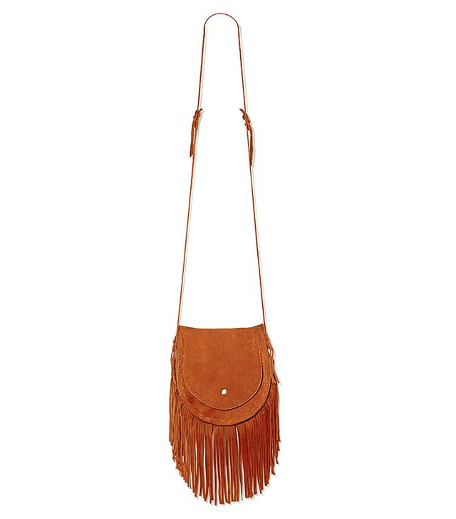 Nasty Gal Indio Suede Fringe Bag