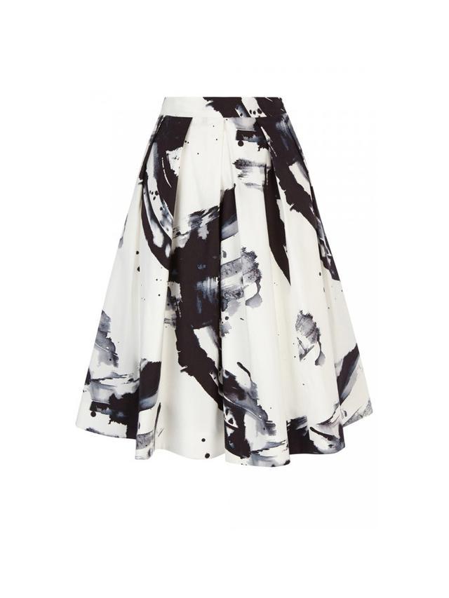 Karen Millen Printed Full Skirt