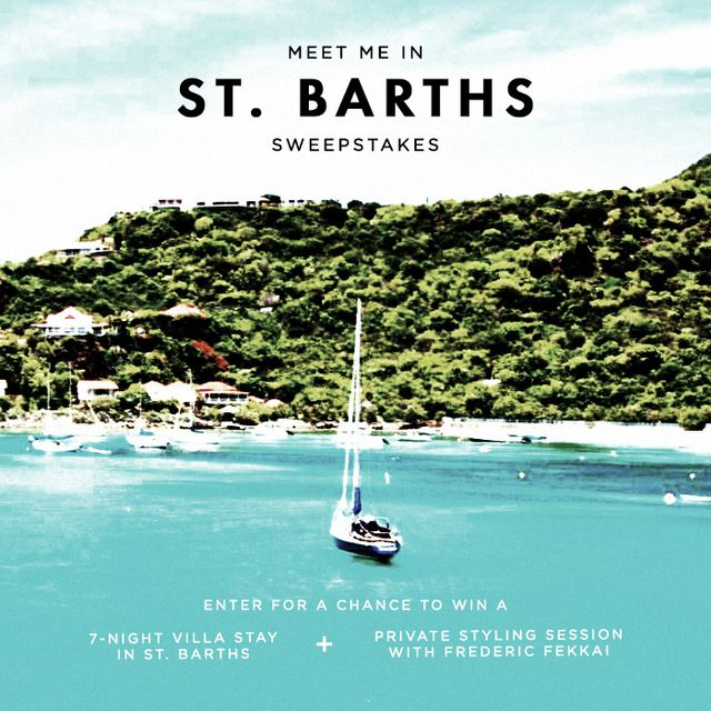 Enter The St. Barths Getaway Sweepstakes