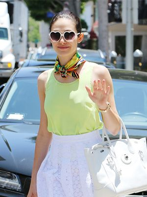 A Lesson In Wearing A Summer Scarf, Starring Emmy Rossum