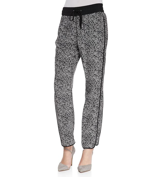Marc Jacobs Karoo Printed Silk Track Pants