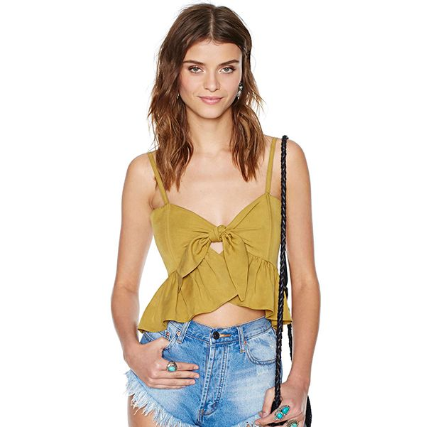 Stone Cold Fox Quixote Crop Top