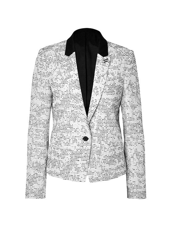 The Kooples Abstract Print Blazer