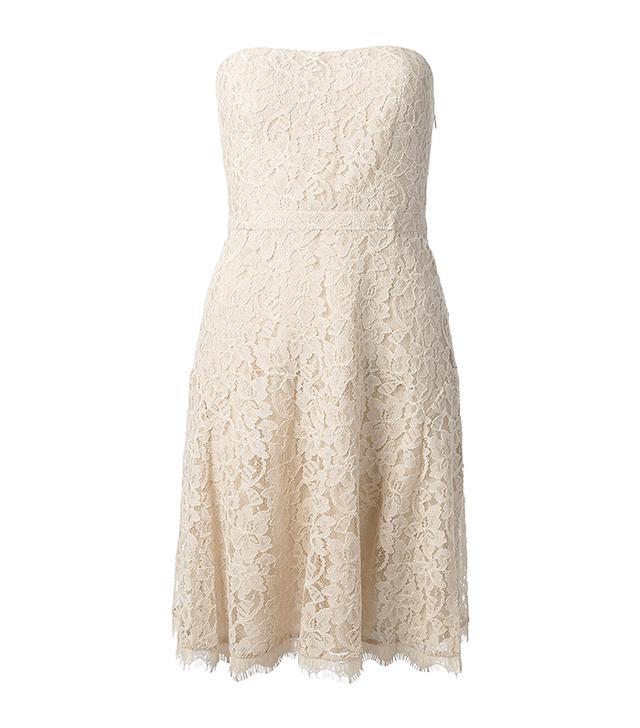 Diane Von Furstenberg Dessa Strapless Lace Dress