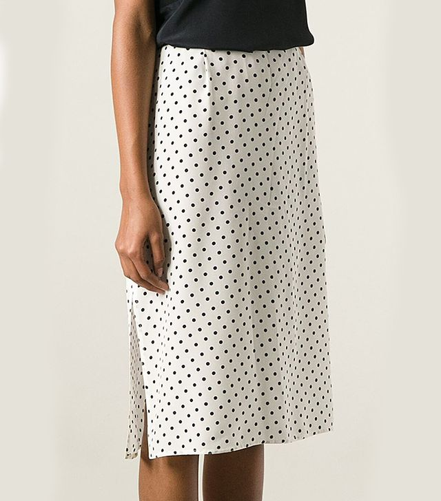 Gianfranco Ferre Vintage Polka Dot Skirt