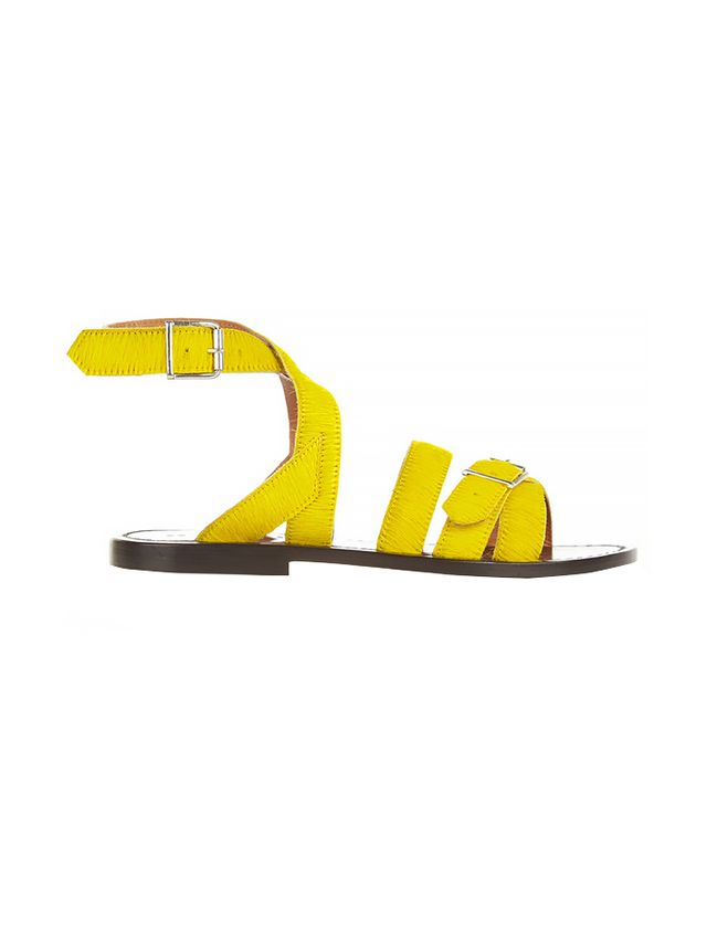 Marni Calf Hair Sandals