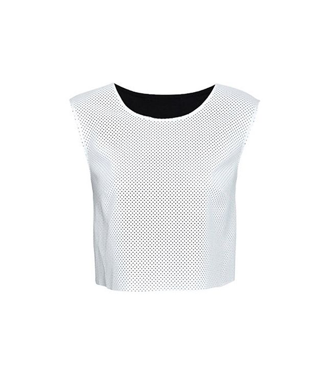 Bailey 44 Perforated Crop Top