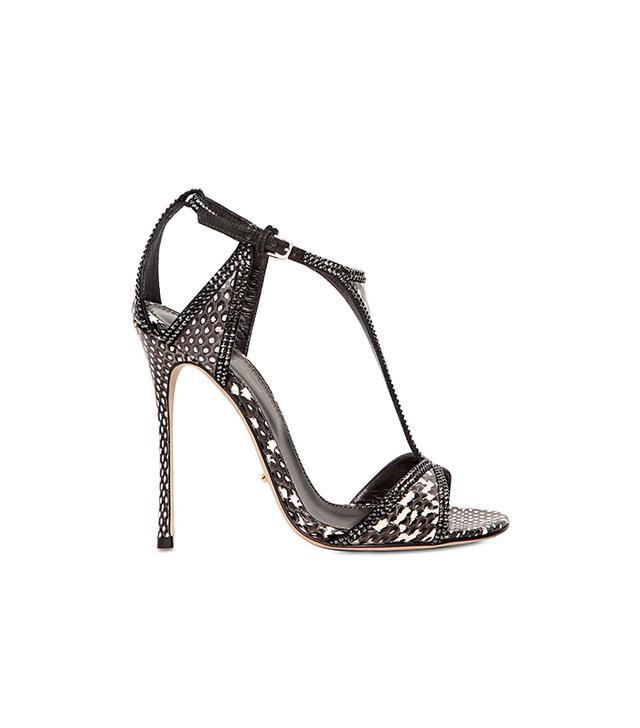 Sergio Rossi Swarovski Sandals
