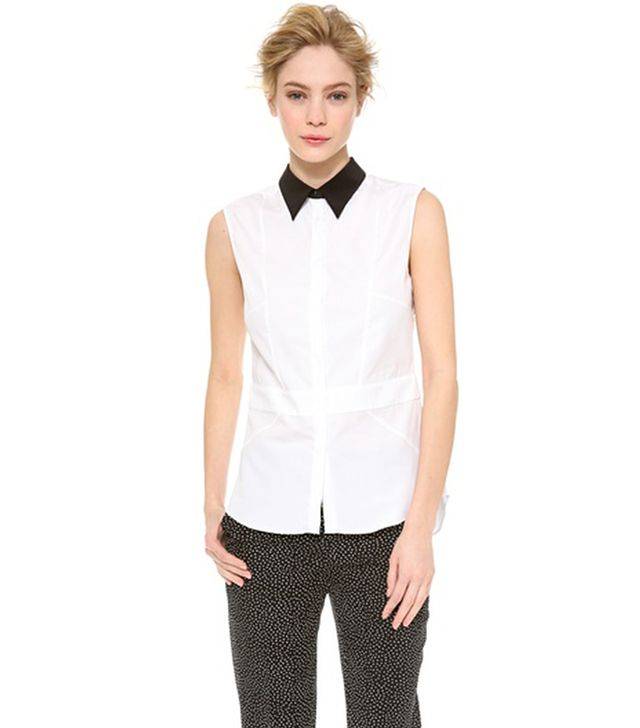 Costume National Sleeveless Shirt