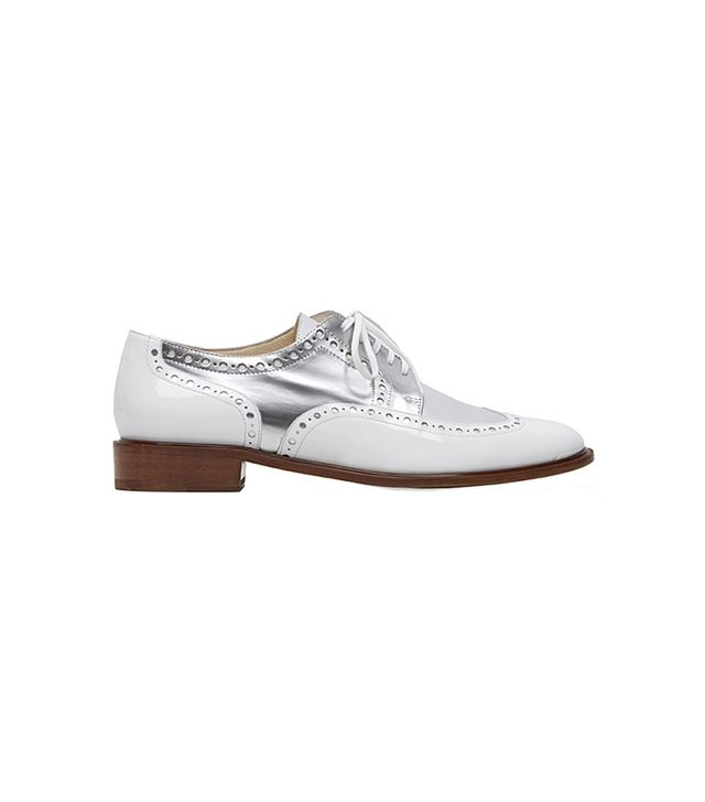Robert Clergerie Joella Two-Tone Wingtip Oxford