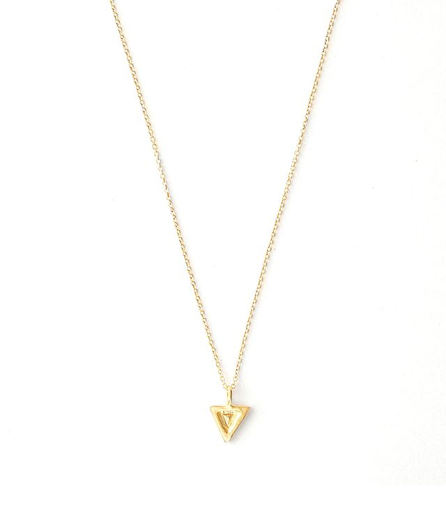 Vanessa Lianne Clyde Necklace Gold Vermeil