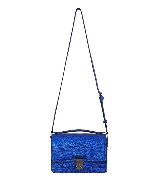 3.1 Phillip Lim Electric Blue Pashli Mini Messenger Bag