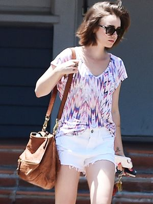 Lily Collins Inspires Our Weekend Wardrobe With A Perfect Barbecue Look