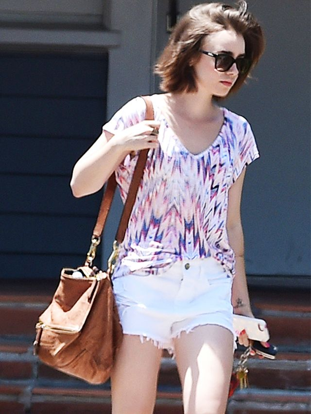 Lily Collins Inspires Our Weekend Wardrobe With A Perfect