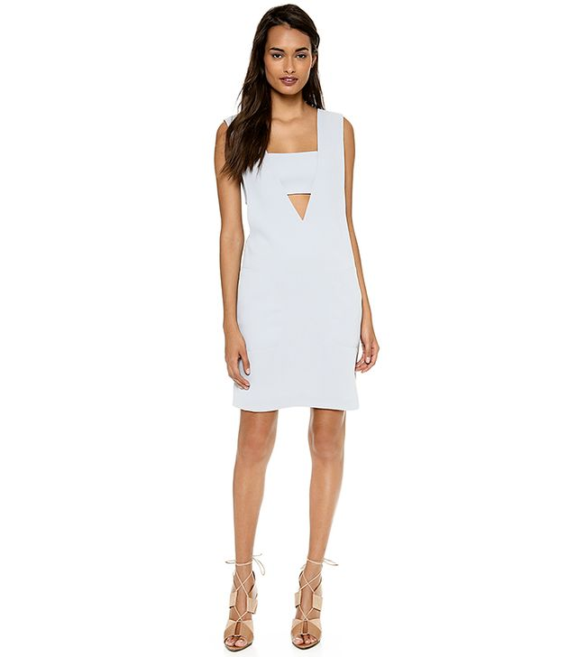T by Alexander Wang Low V Dress