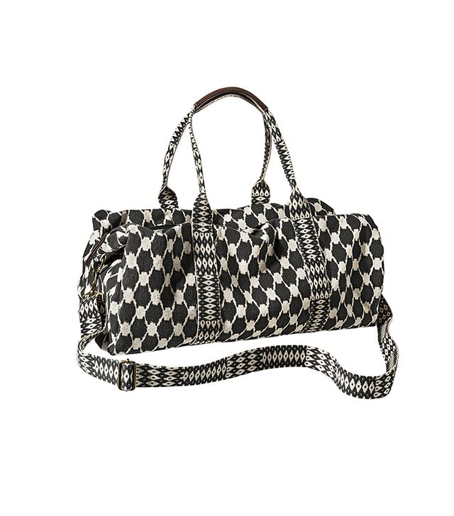 Mossimo Supply Co. Geometric Weekender Duffle Handbag with Removable Shoulder Strap