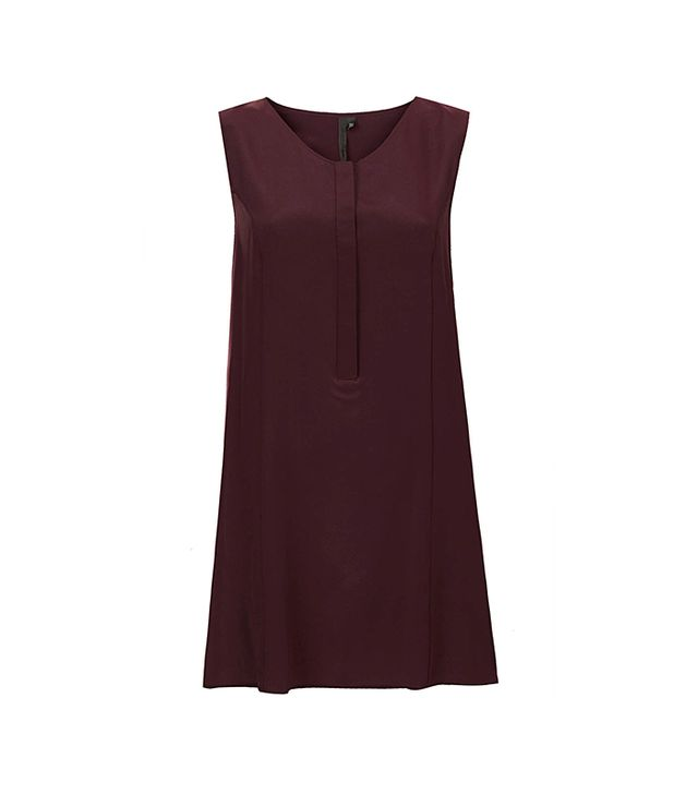 Topshop Placket Swing Dress