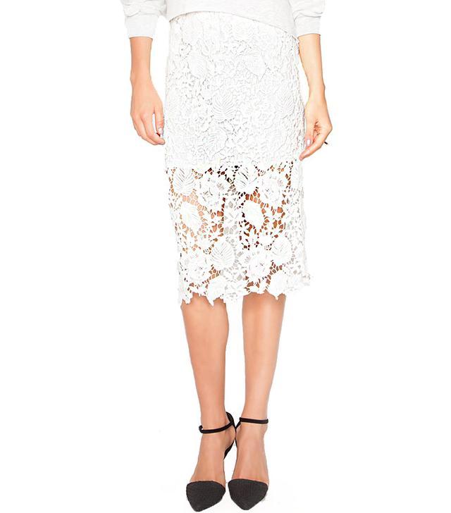 Pixie Market Josephine Lace Skirt
