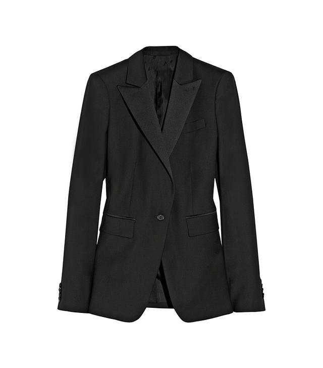 BLK DNM 10 Wool-Crepe Blazer