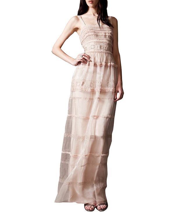 Temperley London Long Strappy Cambon Dress