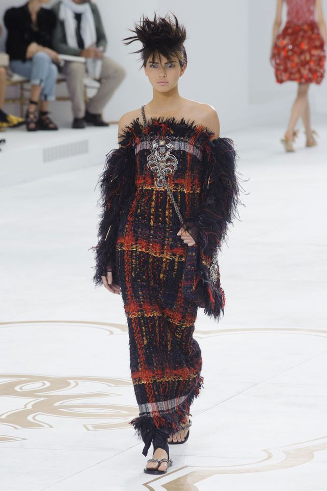 Kendall Jenner Has Officially Made Her Haute Couture Week Debut